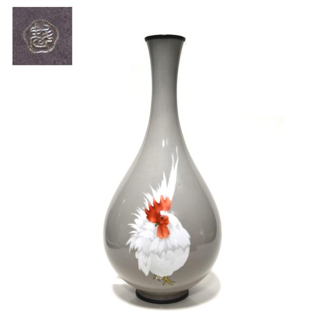 七宝焼き・花瓶